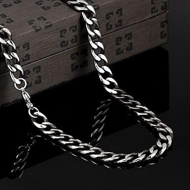 Vintage / Parti / İş / Günlük Titanyum Çelik Zincir