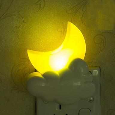 kaunis moon älykäs ohjatuissa hätä johti yövalo lapsille huoneen sisustuksessa