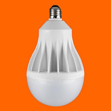 E26/E27 LED 글로브 전구 G60 1pcs SMD 3528 1900 lm 차가운 화이트 AC 220-240 V 1개
