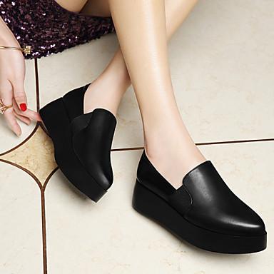 Printemps 04851679 Soirée Femme Evénement Synthétique Eté Chaussures Noir amp; Plateau Automne Creepers qEwBg