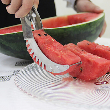 Küchengeräte Edelstahl Kreative Küche Gadget Cutter & Slicer Für Obst 1pc