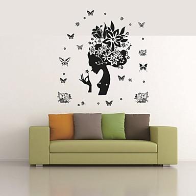 Dekorative Wand Sticker - Tier Wandaufkleber Tiere Menschen Stillleben Romantik Mode Formen Retro Feiertage Cartoon Design Freizeit