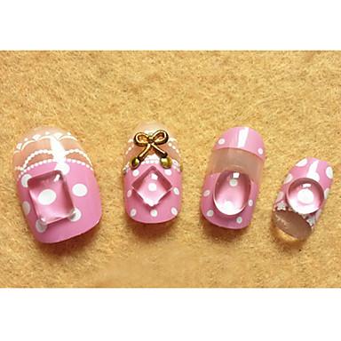 10 pcs 3D Nail Stickers Nail Jewelry Lovely kynsitaide Manikyyri Pedikyyri Päivittäin Muoti / Kynsien korut / 3D-kynsitarrat