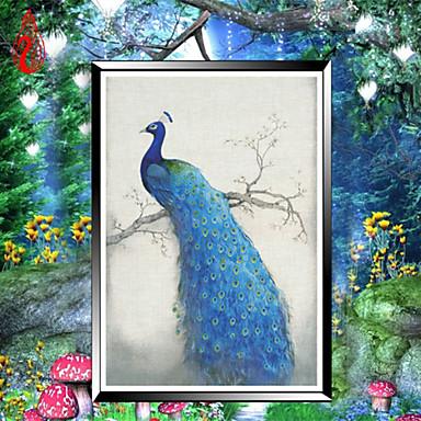 diy de diamantes bordados kits mosaico de pavão alma pintura rodada diamante ponto cruz rica decoração flores casa
