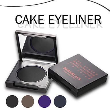Eyeliner Crème Longue Durée Etanches Noir Marron Bleu Violet Yeux Rouge Noir