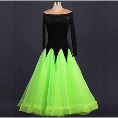 יהיה לנו שמלות ריקודים סלוניים נשים ביצועים שמלה בסגנון אלגנטי