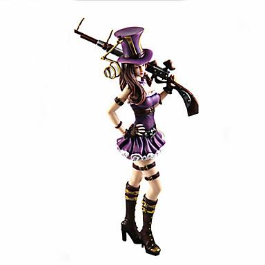 נתוני פעילות אנימה קיבל השראה מ LOL קוספליי PVC 27 CM צעצועי דגם בובת צעצוע