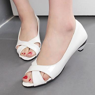 Ženske cipele-Sandale / Salonke / štikle-Aktivnosti u prirodi / Formalne prilike / Ležerne prilike-Umjetna koža-Stožasta potpetica-Štikle