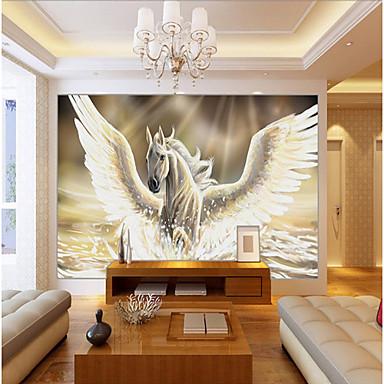 الفني 3D تصميم ديكور المنزل معاصر تغليف الجدران, كنفا مادة لاصق المطلوبة جدارية, غرفة الكوفيرينج