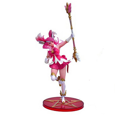 Anime Akciófigurák Ihlette LOL PVC CM Modell játékok Doll Toy Női