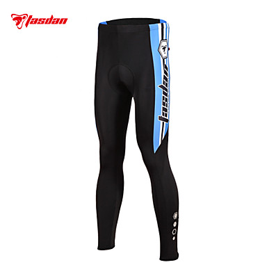 TASDAN מכנסי רכיבה לגברים אופניים מכנסיים טייץ רכיבה על אופניים נושם ייבוש מהיר 3D לוח רצועות מחזירי אור תומך זיעה ניילון אחידרכיבה על