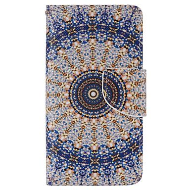 Etui Käyttötarkoitus Sony Xperia Z5 Sony  kotelo Lomapkko Korttikotelo Tuella Flip Kokonaan peittävä Kukka Kova PU-nahka varten Sony