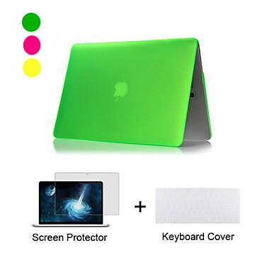 neue matte Kunststoff-Ganzkörper-Fall + tpu Tastaturabdeckung + Displayschutzfolie für MacBook Air 11