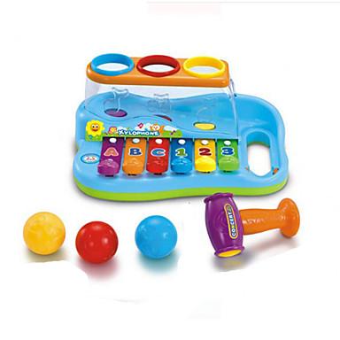 palapeli musiikin lelu lapsille abs punainen / sininen / keltainen