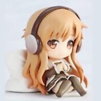 Anime Toimintahahmot Innoittamana Sword Art Online Kirito 6 CM Malli lelut Doll Toy