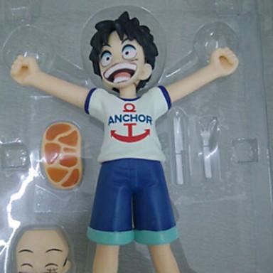 Anime Akciófigurák Ihlette One Piece Szerepjáték PVC 13 CM Modell játékok Doll Toy