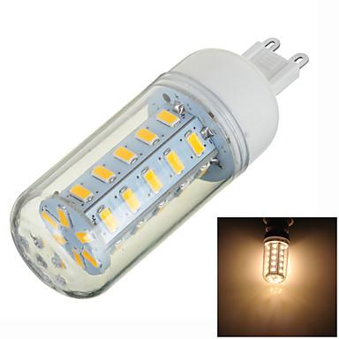 g9 led bi-pin svjetla t 36 smd 5730 400-500lm toplom bijelom 3000k dekorativni AC 220-240v