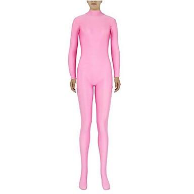 Zentai Anzüge Ninja Zentai Kostüme Cosplay Kostüme Rosa Solide Gymnastikanzug/Einteiler Zentai Kostüme Elasthan Lycra Unisex Halloween