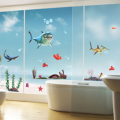 Piirretty Wall Tarrat Lentokone-seinätarrat,PVC 50X70X0.1