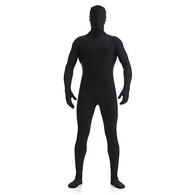 Zentai Anzüge Ninja Zentai Kostüme Cosplay Kostüme Schwarz einfarbig Gymnastikanzug/Einteiler / Zentai Kostüme Lycra / Elasthan Unisex