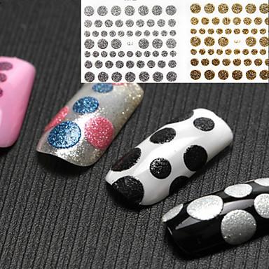 Sažetak / Lijep-3D Nail Naljepnice- zaPrst-10X7X1-8kom. -Other