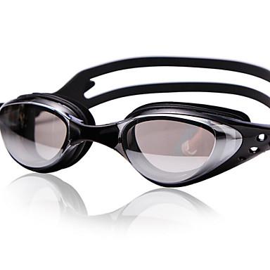 yuke®anti-fog, tamanho ajustável, impermeável, anti-uv para gel de sílica unisex (frames) PC (Lens) óculos de natação