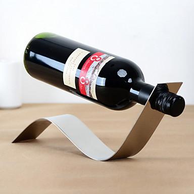 suunnittelussa vuosikerta ruostumattomasta teräksestä viinipulloteline
