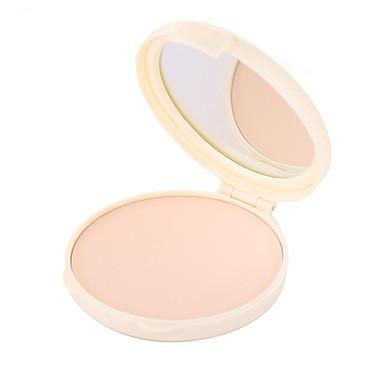 1 Farben Gepresstes Puder Nass / Matt / Mineral Kompaktpuder Weiß machen / Lang anhaltend / Natürlich Gesicht China