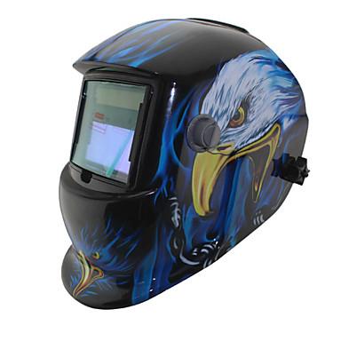 águia ferramentas de soldagem garra li bateria solar auto escurecimento tig mma mig máscara de solda / Capacetes / cap / óculos / máscara