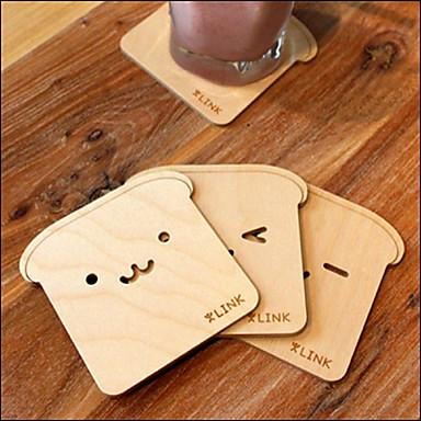 1kpl lämmönkestävä japanilainen söpö karhuja Brich lasinaluset cup matto