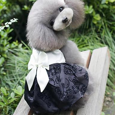 Psi Haljine Obala / Narančasta Odjeća za psa Ljeto / Proljeće/Jesen Mašna / Vezeno Vjenčanje / Moda