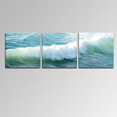 Kuuluisa Maisema Patriotismi Moderni Romantiikka 3 paneeli Horizontal Painettu Wall Decor For Kodinsisustus