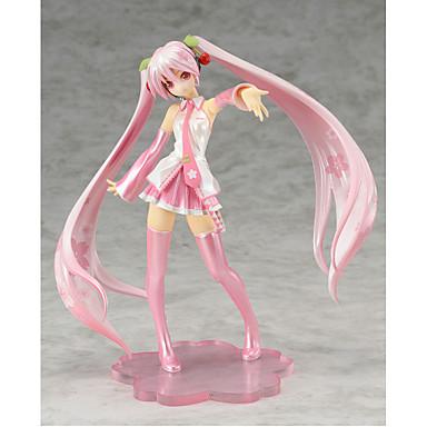 Figuras de Ação Anime Inspirado por Vocaloid Hatsune Miku PVC 20 CM modelo Brinquedos Boneca de Brinquedo