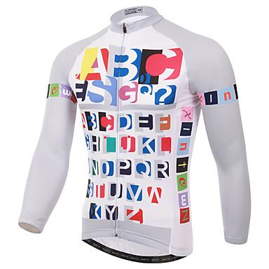 XINTOWN Biciklistička majica Muškarci Dugih rukava Bicikl Biciklistička majica Majice Zima Odjeća za vožnju biciklom Quick dry