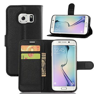 Etui Käyttötarkoitus Samsung Galaxy Samsung Galaxy Note Korttikotelo Lomapkko Tuella Flip Suojakuori Yhtenäinen väri PU-nahka varten Note