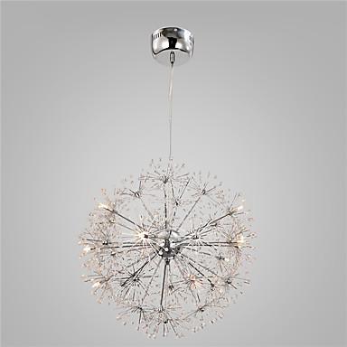 moderni kromi kaulakoru valot maailmaa voikukka valot 15 valot olohuone