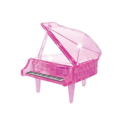 voordelige 3D-puzzels-Legpuzzels 3D-puzzels / Kristallen puzzels Bouw blokken DIY Toys Piano ABS Orange Modelbouw & constructiespeelgoed