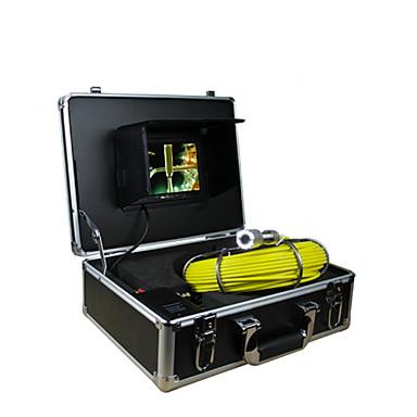 cső ellenőrző rendszer 30m csővezeték ellenőrző cső fala 7 TFT monitor kamera 12 led 4GB kártya rekord