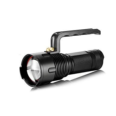 SHARP EAGLE LED Taschenlampen LED 1400 lm 3 Modus Cree XM-T6 L2 Zoomable- einstellbarer Fokus Stoßfest Wiederaufladbar Wasserfest