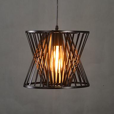 Riipus valot ,  Vintage Maalaus Ominaisuus for LED suunnittelijat MetalliLiving Room Makuuhuone Ruokailuhuone Kitchen Työhuone/toimisto