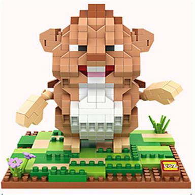 לקבלת מתנה אבני בניין פלסטיק כל שנהב / אפור / גמל צעצועים