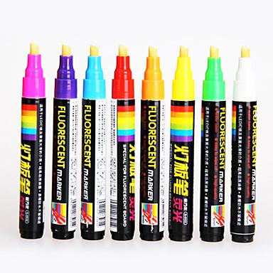 Kynä Kynä Korostuskynät Kynä,Muovi tynnyri Ink Colors For Koulutarvikkeet Toimistotarvikkeet Pakkaus
