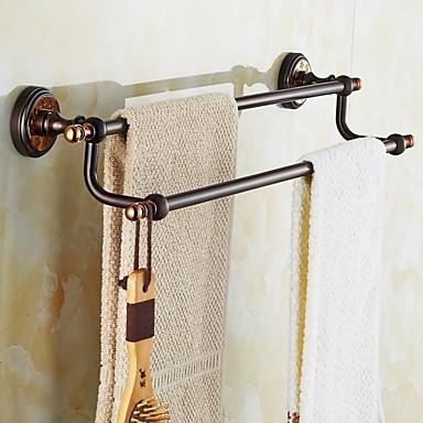 Handtuchhalter Neoklassisch Messing 1 Stück - Hotelbad 2-Turm-Bar