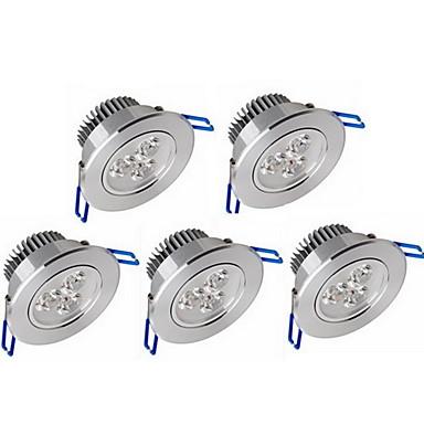 zdm 5 stk. dimmbar 3x2w høy effekt led lampe 500-550 lm led taklampe forsynt ettermontert lysdioder varm hvit kald hvit AC 110v / ac 220v