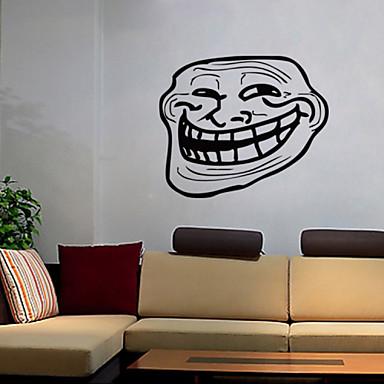 Asetelma / Muodot / Ihmiset / Vapaa-aika Wall Tarrat Lentokone-seinätarrat,vinyl 42*50cm