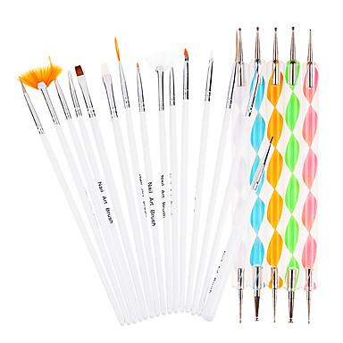 20 pcs Nagel-Punktierung-Werkzeuge Nagel-Kunst-DIY-Werkzeug-Zubehör Nagel-Kunst-Design