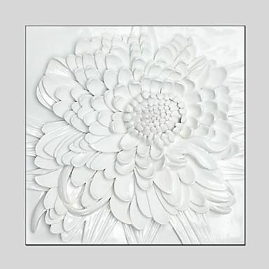 Handgemalte Blumenmuster/BotanischModern / Klassisch / Traditionell / Europäischer Stil Ein Panel Leinwand Hang-Ölgemälde For Haus