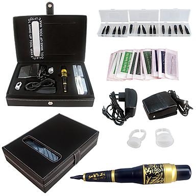solong tatuointi pysyvä meikki kit tatuointi kynä kulmakarvojen huuli kone asettaa ek703-6