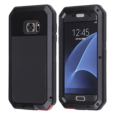Hülle Für Samsung Galaxy Samsung Galaxy Hülle Wasserdicht Stoßresistent Ganzkörper-Gehäuse Tier Hart Metal für S8 Plus S8 S7 edge S7 S6