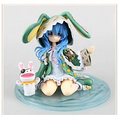 Date A Live Yoshino PVC 15cm Anime Toimintahahmot Malli lelut Doll Toy